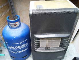 BOSCH Calor Gas Heater + 15kg Bottle (half full)