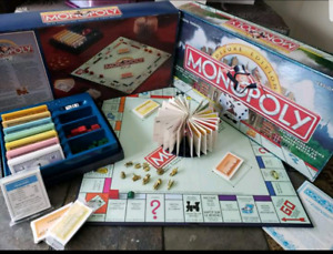 BILINGUAL Monopoly Board Game FRENCH & ENGLISH! Deluxe