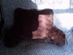 Brown Back Pillow