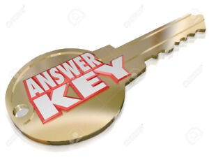 ILC Key Answers - All valid for 2018 - ILC Exams Available