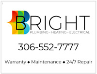 BRIGHT Plumbing Heating & Electrical. 24/7 Emergency Service