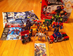 TRANSFORMERS COLLECTION - BEAST WARS AND MODERN