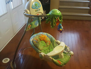 Fisher Price Rainforest Swing