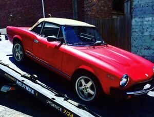 1979 FIAT SPIDER, BEATIFUL CAR- READY FOR RESTORATION