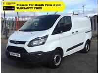 2015 Ford Transit Custom 2.2 ECOnetic 270 L1H2 Panel Van, ( L1h1 270 L1 L2
