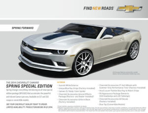 2014 Camaro Convertible Spring Edition Only 35 Made for Canada