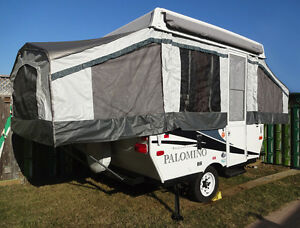 2013 Palomino 280 8Ft. Pop-up Tent Trailer Camper Sleep 4-6