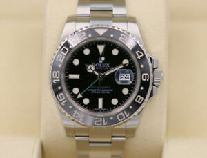 Rolex GMT master 2 116710 box and papers 8300