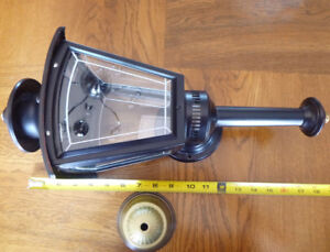 Never Used Exterior Black Wall Sconce