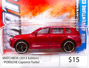 MATCHBOX 2013 Ed. 'Porsche Cayenne Turbo (Dark Red)' Diecast