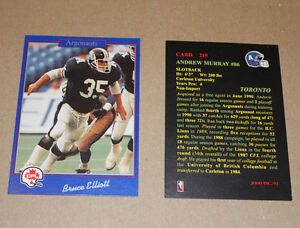 Jogo CFL football cards