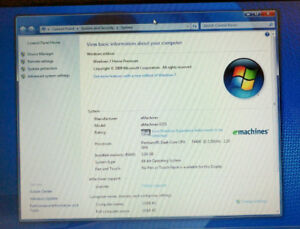 Acer eMachine Laptop MINT CONDITION