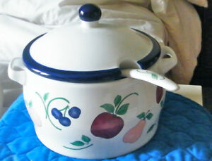 ORCHARD MEDLEY SERVING POT -- PRACTICAL *PRINCESS HOUSE* PRODUCT