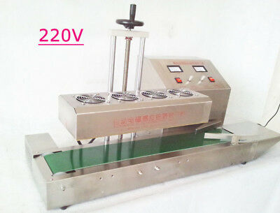 Lt-1800 220v 20-100mm Bottle Continuous Induction Sealer Machine Diameter Usa