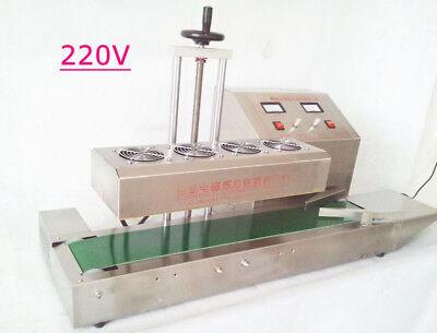 Lt-1800 220v 20-100mm Bottle Continuous Induction Sealer Machine Diameter Usa