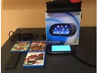 Ps Vita Great condition Boxed with games