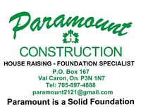 Paramount is a solid foundation!