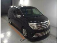 2004 Nissan Elgrand RIDER S AUTECH 4WD FULL LEATHER SEATS MPV Petrol Automatic