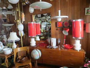 PAST and PRESENT ANTIQUES with FABULOUS COLLECTIBLES and MCM