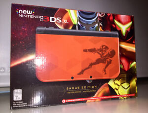 New Nintendo 3DS XL: Metroid Samus Edition