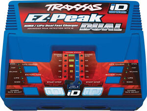TRAXXAS EZ-Peak Plus 100w Ni-Mh/Li-Po DUAL CHARGER, RC , unused,