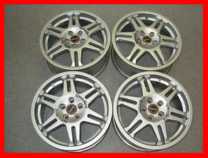 Speedline Rally wheels rims 16x7 5x100 Subaru Impreza GC8 jdm GD