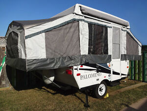 For Sale, 8Ft. 10Ft Palomino Pop-up Trailer sleep 4-8 people