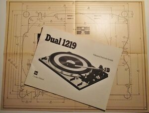 Dual 1219 Turntable Owner's Manual. English West Island Greater Montréal image 4