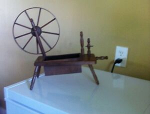 Decorative spinning wheel