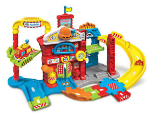 VTech Go! Go! Smart Wheels Save The Day Fire Station (English Ve