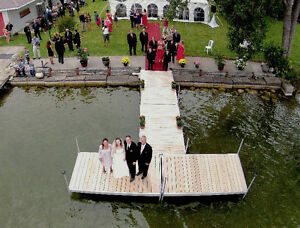 Aerial and Traditional Wedding Photography