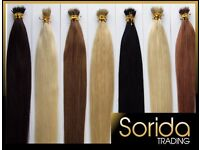 Wholesale Job lot Human Hair Extensions Clearance. Nano, Stick tip and Micro Tape in
