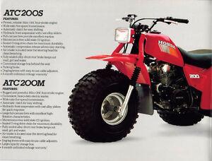 Recherche Honda 200m/s