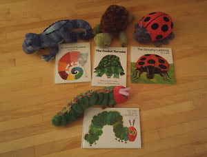 Eric Carle Books with Matching Stuffie