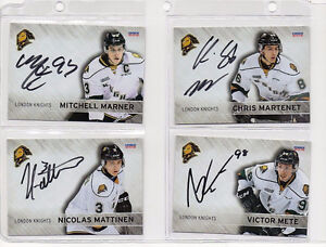 London Knights Autograph Album by the whole team. London Ontario image 3