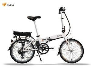 "Brand new: Yadea 20"" folding eBike"