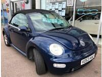 Volkswagen Beetle 1.6 2004 MODEL FULL LEATHER LOW MILAGE VERY CLEAN CAR