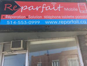 Réparer cellulaire et tablette très bonne qualité et bas prix