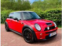 2003 MINI HATCHBACK 1.6 R53 Cooper S Chilli Red Supercharged 6 Speed Manual FSH