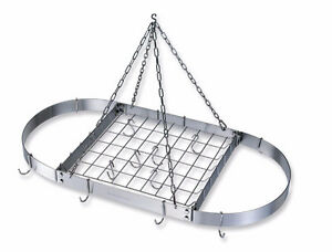 Lagostina Stainless Steel Hanging Pot Rack