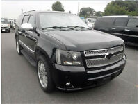 FRESH IMPORT 2009 CHEVROLET SUBURBAN 5.4 V8 PETROL AUTO SUV IN BLACK
