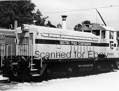Electric Fuels Corp   9423 Des Moines Iowa June 87 Original Photo  Railroad