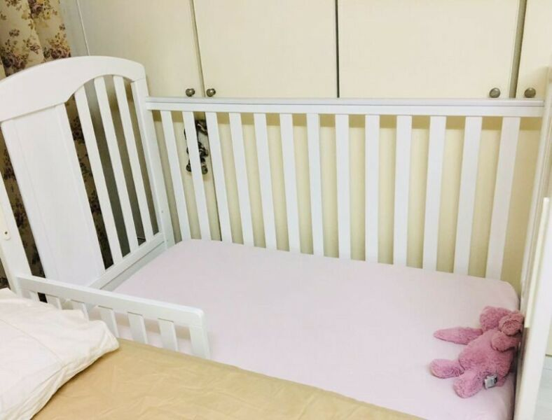 Happy Cot (baby to toddler) S$110