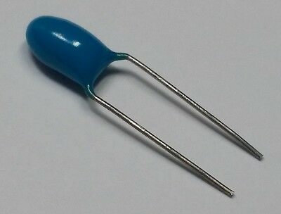 2.2uf 35v Radial Dipped Tantalum Capacitor Itt 10 Lot