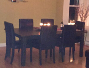 Dining set - 6 chairs