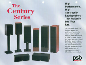 PSB Centry 800i Speakers.