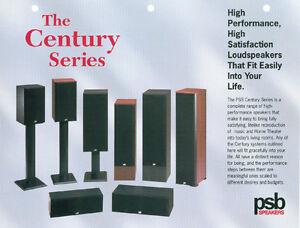 PSB Centry 800i Speakers. Kitchener / Waterloo Kitchener Area image 1