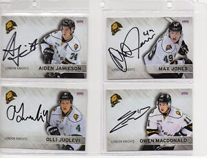 London Knights Autograph Album by the whole team. London Ontario image 6