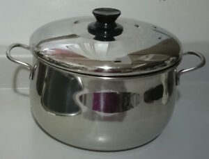 Lagostina Meastro T 00 T Stainless Steel Dutch Oven Pot