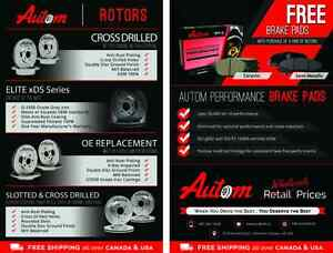 Buy a set of Rotors from US and get PADS for absolutely free!!